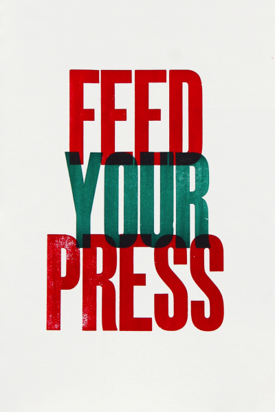 The project Letterpress as a Sustainable medium of Visual Communication